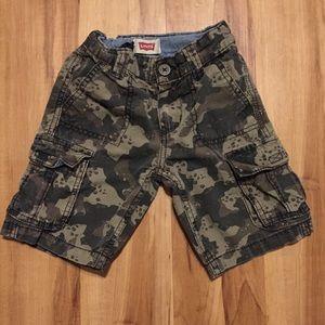 Levi's Kids Camo Shorts